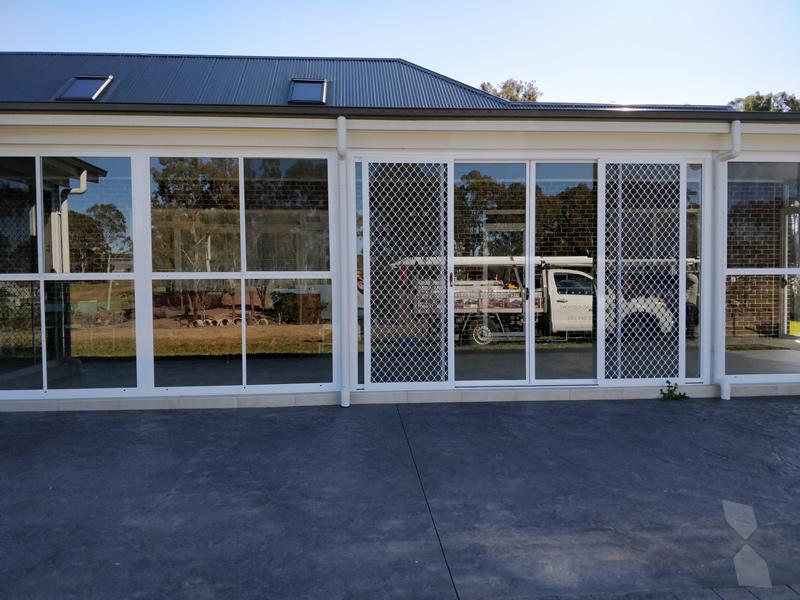 Glass Enclosure at Camden