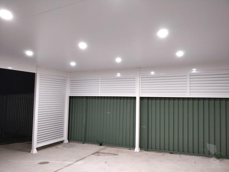 Skillion Insulated Carport at Sydney - CNC Home Additions