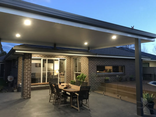 Insulated Patio Roof at Liverpool