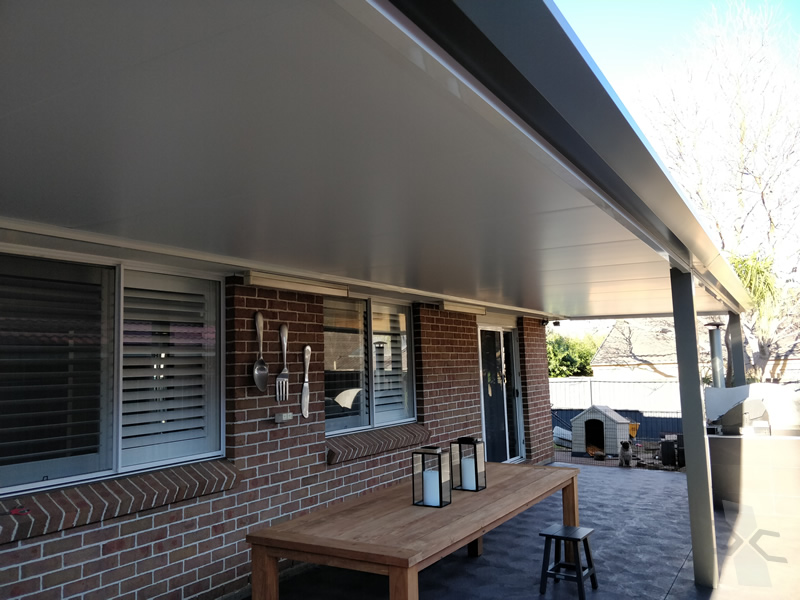 Insulated Patio Roof With Stratco Edge At Harrington Park
