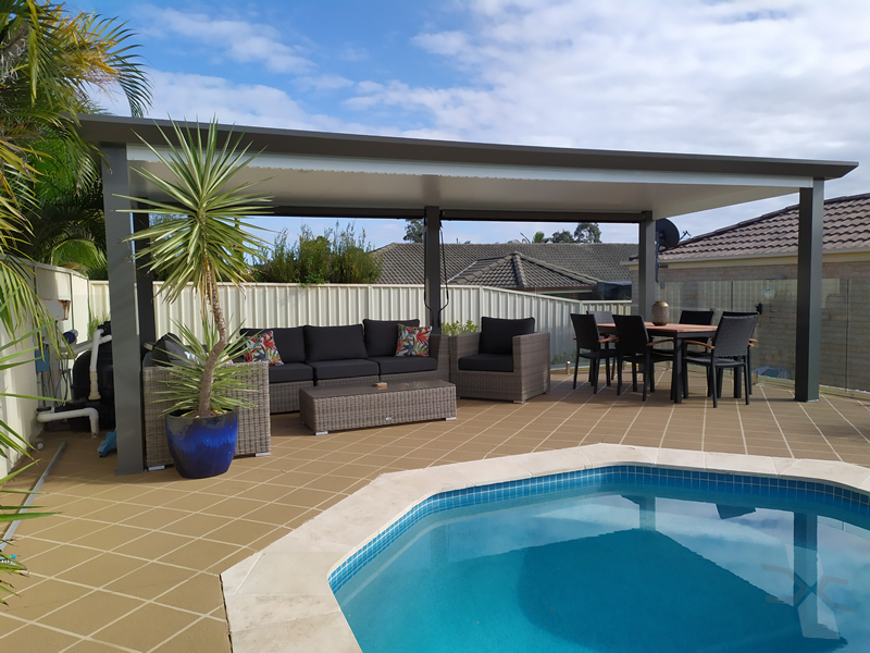 Freestanding Insulated Patio Roof At Penrith Cnc Home