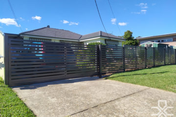 Aluminum Front Fence