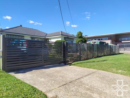 Aluminum Front Fence