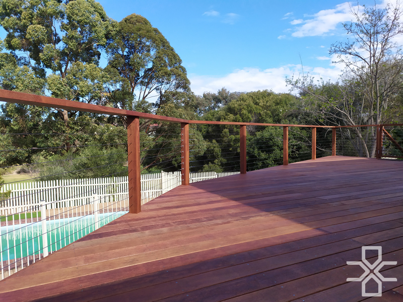 Merbau Timber Deck Campbelltown