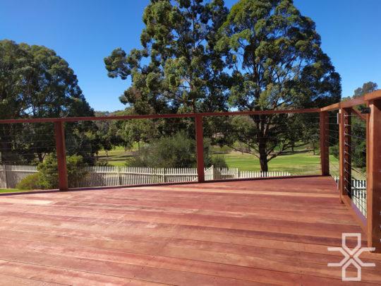 Merbau Timber Deck Campbelltown