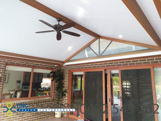 Insulated Patio Timber Look Posts